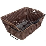 Axiom QR Faux Wicker Rear Grocery Basket